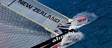 Alinghi v.s. Emirates Team New Zealand